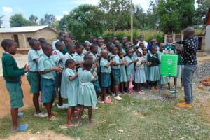 The Water Project: Mukangu Primary School -  Handwashing Demonstration