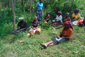 The Water Project: Shamakhokho Community, Imbai Spring -  Training At The Spring Site