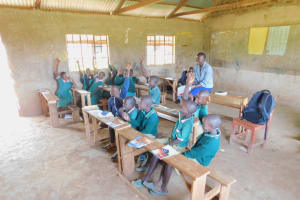 The Water Project: Shinyikha Primary School -  Training Was Full Of Life And Reactions