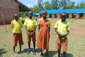 The Water Project: St. Margret Wadin'go Primary School -  Students