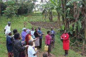 The Water Project: Emmachembe Community, Magina Spring -  Handwashing Demonstration