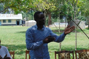 The Water Project: Ematiha Secondary School -  Facilitator In Action