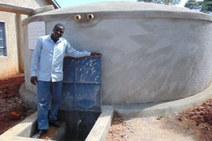 The Water Project: Womulalu Special School -  Happy School Staff At The Tank