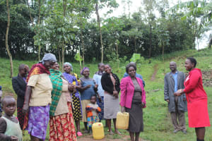 The Water Project: Emmachembe Community, Magina Spring -  A Moment Of Humor