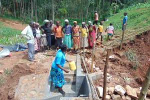 The Water Project: Shamakhokho Community, Imbai Spring -  Site Management Training