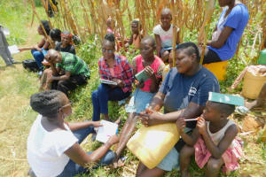 The Water Project: Sichinji Community, Kubai Spring -  Group Discussion