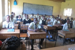 The Water Project: St. Gerald Mayuge Secondary School -  Students In Class