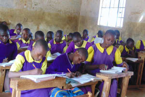 The Water Project: Kapsogoro Primary School -  Students In Class