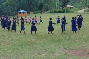 The Water Project: Kapkoi Primary School -  Students On The Playgrounds