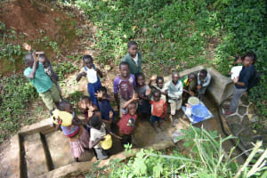 The Water Project: Mungakha Community, Asena Spring -  Busy Asena Spring