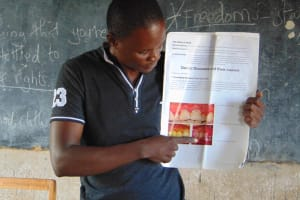 The Water Project: Musasa Primary School -  Dental Hygiene Session