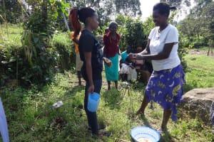 The Water Project: Bungaya Community, Charles Khainga Spring -  Handwashing Training