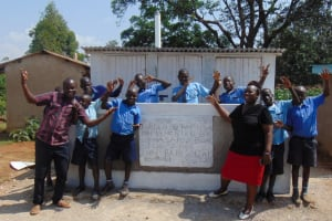 The Water Project: Enyapora Primary School -  Hooray New Latrines