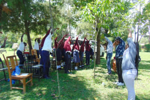 The Water Project: Ematiha Secondary School -  Mid Day Stretch