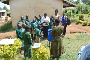 The Water Project: Elufafwa Community School -  Handwashing Session
