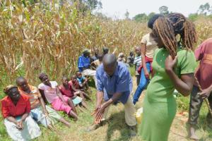 The Water Project: Sichinji Community, Kubai Spring -  Handwashing Session