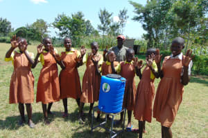 The Water Project: St. Margret Wadin'go Primary School -  Check Out Our Clean Hands