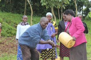 The Water Project: Emmachembe Community, Magina Spring -  Handwashing