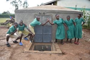 The Water Project: Elufafwa Community School -  Cheers Are In Order