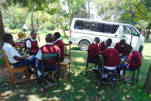 The Water Project: Ematiha Secondary School -  Group Discussions