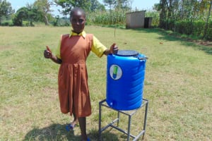 The Water Project: St. Margret Wadin'go Primary School -  Thumbs Up For Handwashing