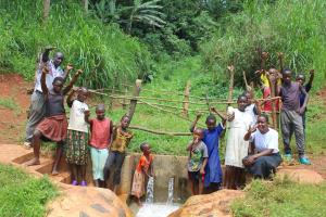 The Water Project: Mushina Community, Shikuku Spring -  Celebrating The Spring