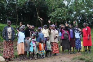 The Water Project: Emmachembe Community, Magina Spring -  Happy Group After Training