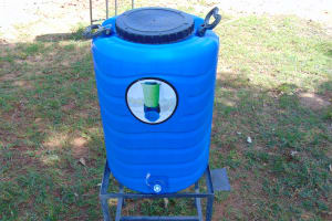 The Water Project: Womulalu Special School -  Handwashing Station