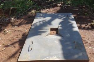 The Water Project: Bungaya Community, Charles Khainga Spring -  Completed Sanitation Platform