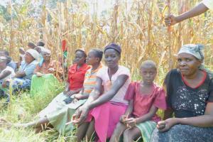 The Water Project: Sichinji Community, Kubai Spring -  Participants