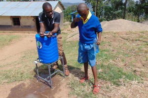 The Water Project: Musasa Primary School -  Student Volunteers To Demonstrate Toothbrushing