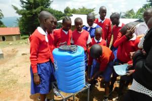 The Water Project: Goibei Primary School -  Handwashing