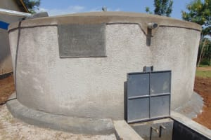 The Water Project: St. Margret Wadin'go Primary School -  Completed Rain Tank