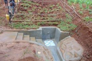 The Water Project: Shamakhokho Community, Imbai Spring -  Completed Imbai Spring