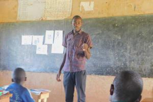 The Water Project: Shinyikha Primary School -  Trainer Protus