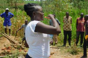 The Water Project: Sichinji Community, Kubai Spring -  Trainer Adelaide On Toothbrushing