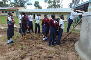 The Water Project: Ematiha Secondary School -  Learning About The Tank