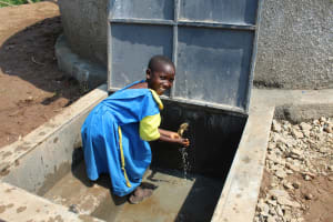 The Water Project: Musasa Primary School -  Smiles At The Tank