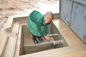 The Water Project: Elufafwa Community School -  I Promise To Always Be Clean She Said