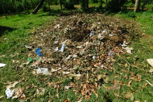 The Water Project: Makale Primary School -  Garbage Disposal Pit