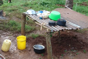The Water Project: Kapsaoi Primary School -  Dishrack