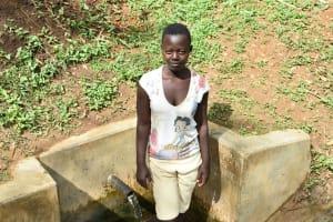 The Water Project: Mungakha Community, Nyanje Spring -  Charity Njilu