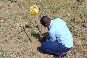 The Water Project: Musasa Primary School -  Tippy Tap Construction