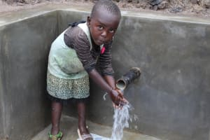 The Water Project: Emmachembe Community, Magina Spring -  Camera Shy