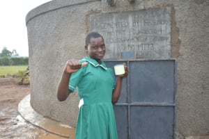 The Water Project: Elufafwa Community School -  Now Drinking Water Is Easily Accessible