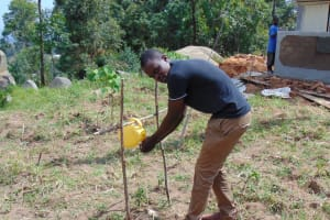 The Water Project: Musasa Primary School -  Tippy Tap Demonstration