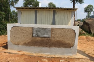 The Water Project: Musasa Primary School -  Completed Latrines