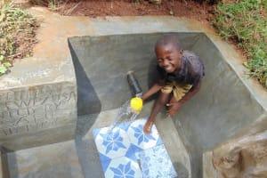The Water Project: Shamakhokho Community, Imbai Spring -  Splash