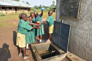 The Water Project: Shinyikha Primary School -  Celebrating Clean Water