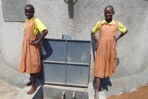 The Water Project: St. Margret Wadin'go Primary School -  Standing Proud With The Rain Tank